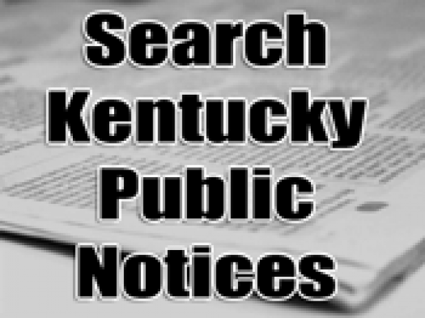 KENTUCKY PUBLIC NOTICES