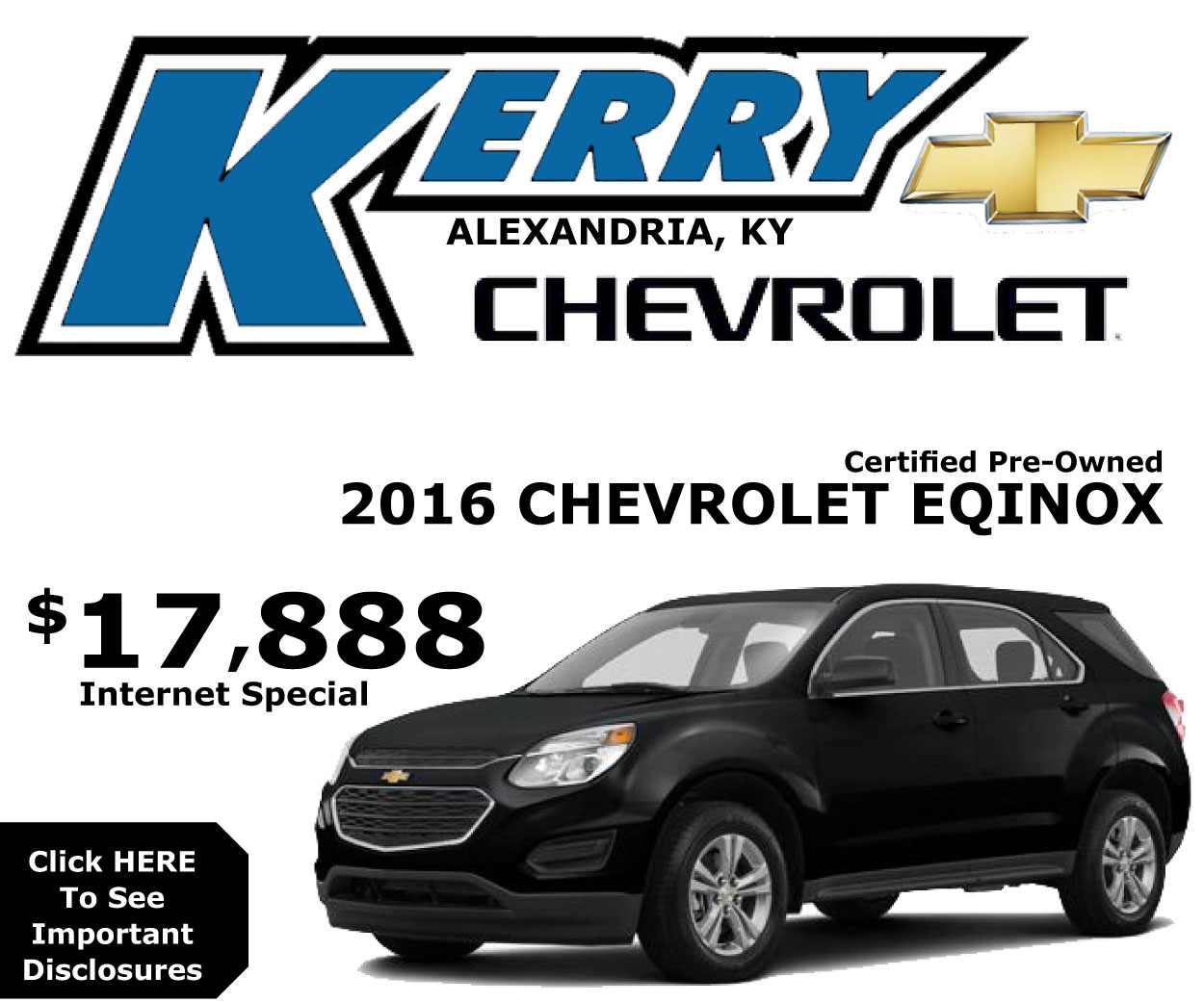 Kerry Chevrolet  Equinox