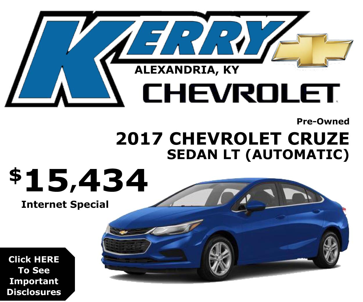 Kerry Chevrolet Cruze