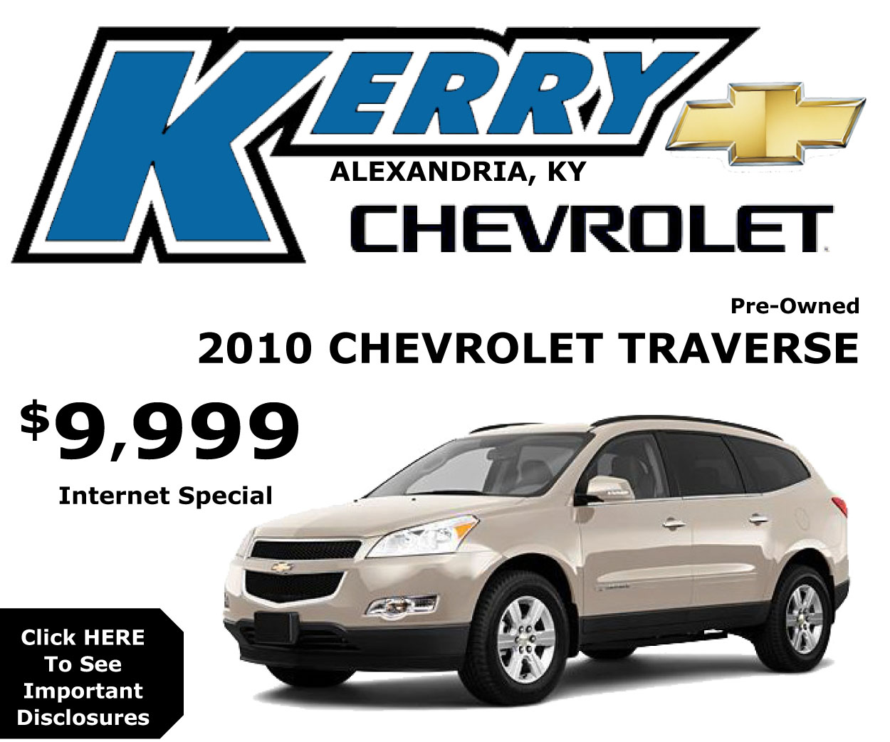 Kerry Chevrolet Traverse