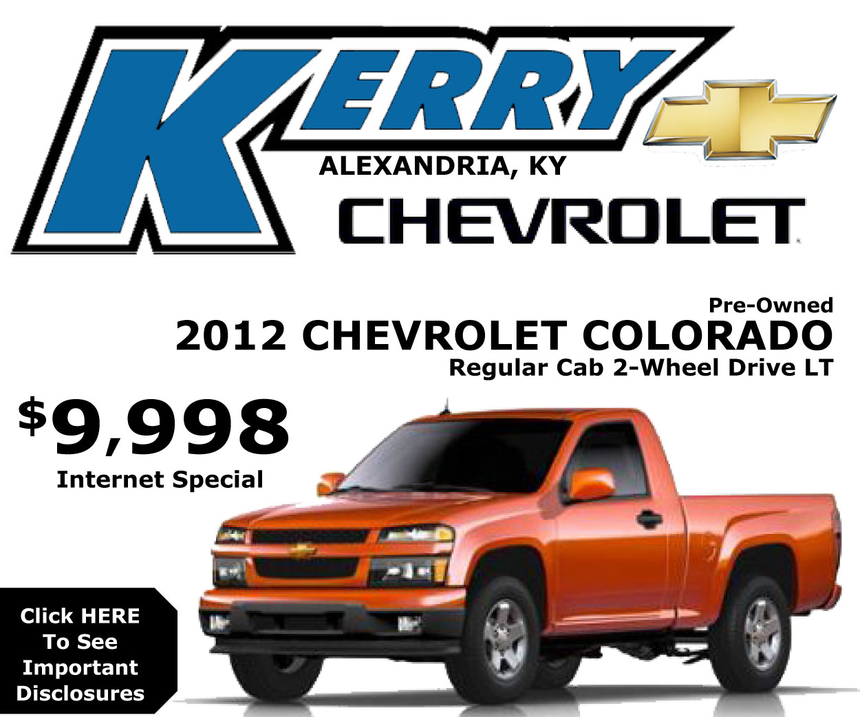 Kerry Chevrolet Colorado Single Cab