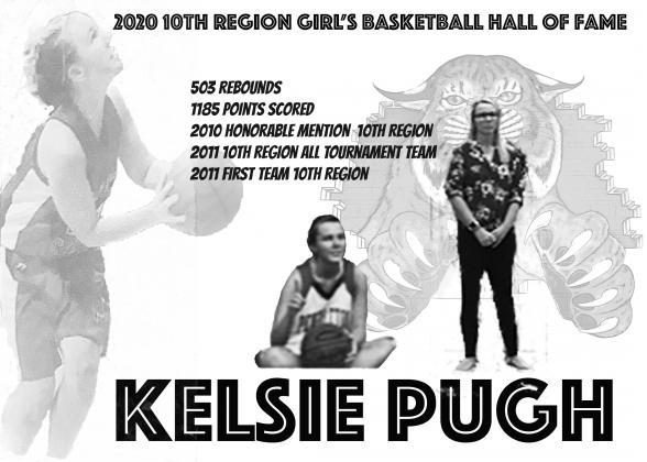 Kelsie Pugh McClanahan is a member of the Ladycat 1,000 point club